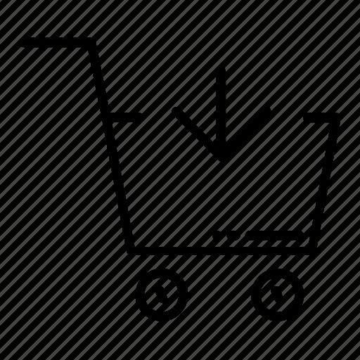 add, add to basket, cart, shopping, shopping bag, shopping basket icon