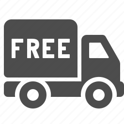 delivery, free, transportation, truck, vehicle icon