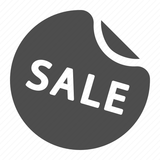 sale, shopping, sticker icon