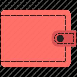 billfold, pocketbook, purse, wallet icon