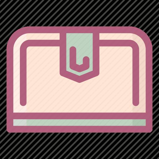 pocketbook, purse, wallet icon
