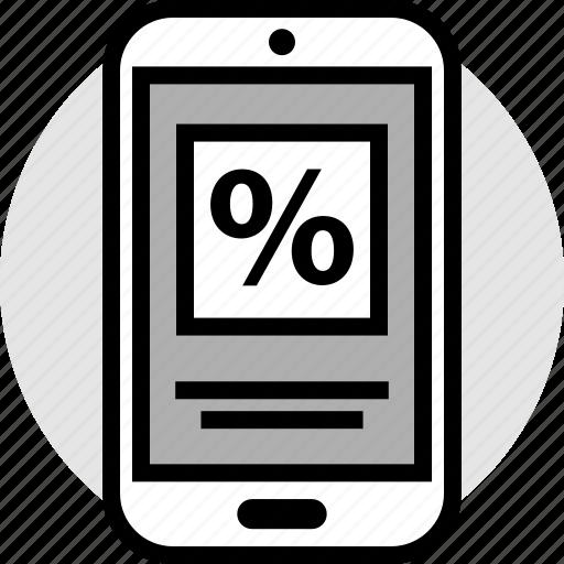 blackfriday, percent, savings icon