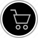 add, cart, go, next icon