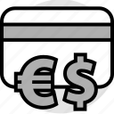 card, credit, funds icon