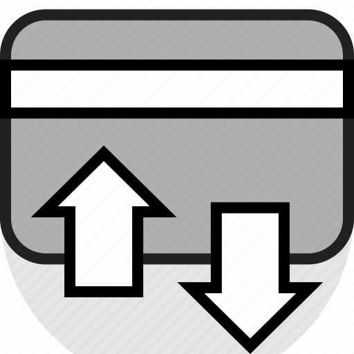 card, credit, transactions icon