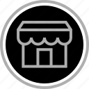 cart, front, shopping, store icon