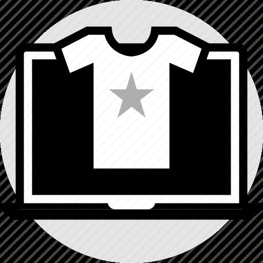 mac, pc, star, web icon