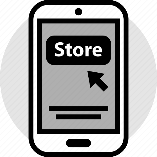 click, now, online, pay, store icon