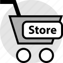 ecommerce, shopping, store icon