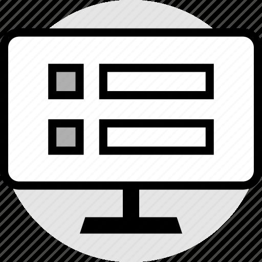 mockup, shopping, web, website icon