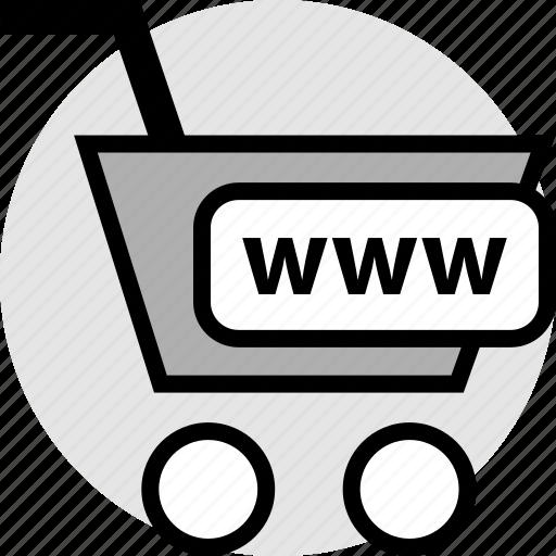 click, online, www icon