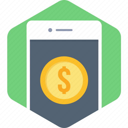 mobile, mobile money, pay, payment, phone, smartphone icon