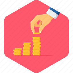 earnings, extra profit, growth, invest, investment, money, profit icon