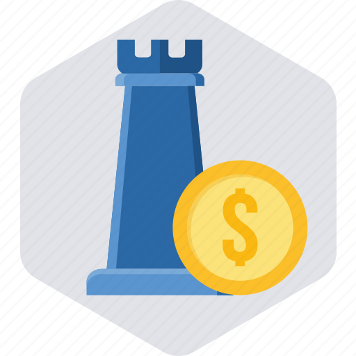 bank, money, money management, piece, plan, planning, strategy icon