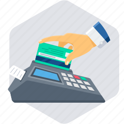 acceptance, card, card payment, card swipe icon