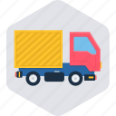 commerce, delivery, shipping, transport, transportation, truck icon