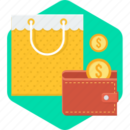 cash, cashback, purse, saving, savings, shopping, wallet icon