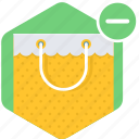 bag, buy, cancel, cart, shop, shopping, store icon