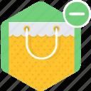 bag, shop, shopping, buy, cancel, cart, store