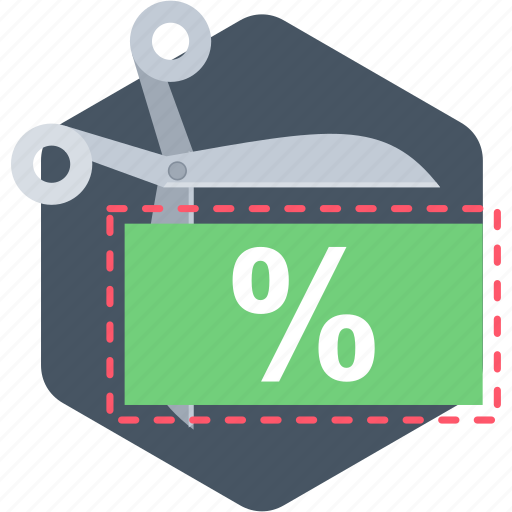 coupon, discount, offer, percent, percentage, price, sticker icon