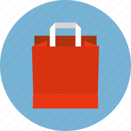 bag, basket, cart, eco, ecommerce, paper, shopping icon