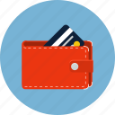 card, cash, ecommerce, money, sale, shop, wallet icon