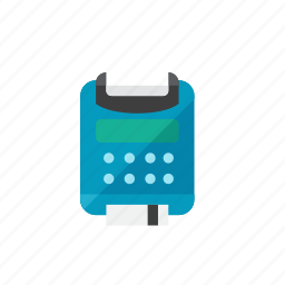 card, credit, machine icon