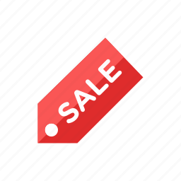 sale, tag icon