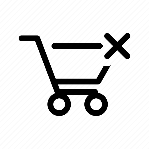 cart, clear, shopping cart icon