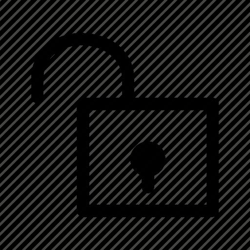 lock, locked, password, project, protect, safe, unlock icon