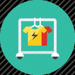 cloth, rack icon