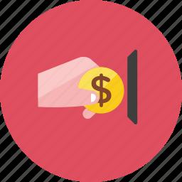 coin, pay icon