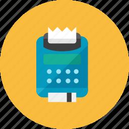 card, credit, machine icon