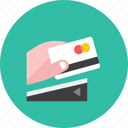 3, card, credit, machine icon