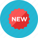 new, sign icon