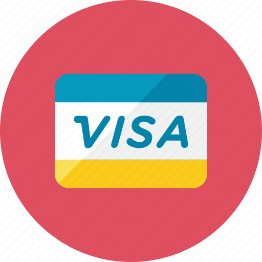 Visa icon - Download on Iconfinder on Iconfinder
