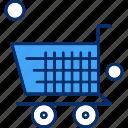 cart, shop, shopping, trolley
