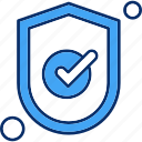 protection, security, shield, tick