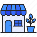 building, ecommerce, store