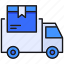 box, car, delivery, transportation, truck icon