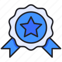 award, champion, medal, premium, rank icon