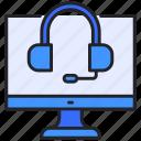 customer, headphone, monitor, online, service