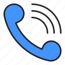 call, communication, contact, phone, telephone icon