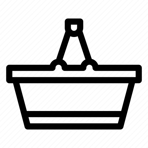 basket, cart, commerce, market, shopping icon