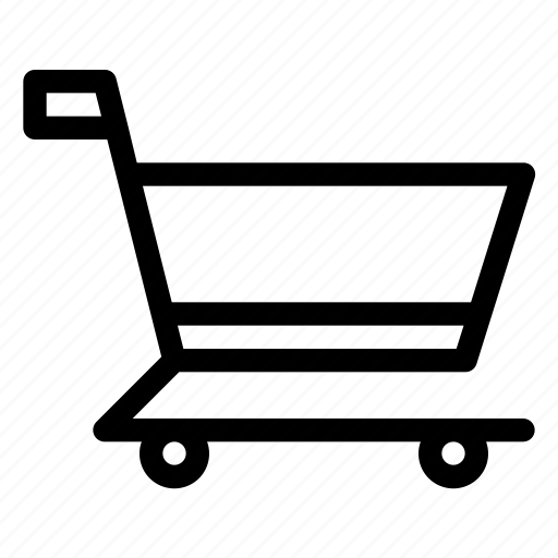 cart, commerce, market, shoppping, trolley icon