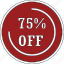 discount, label, off, offer, sale, shopping icon
