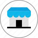 business, front, shop, store icon