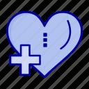 add, heart, love, plus