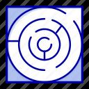 labyrinth, map, maze, pattern, strategy