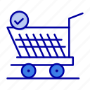 cart, retail, shopping, trolly icon